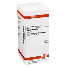 Produktbild Lycopodium D 6 Tabletten