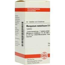 Produktbild Manganum metallicum D 6 Tabletten