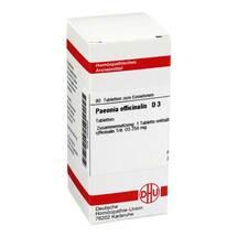 Produktbild Paeonia officinalis D 3 Tabletten