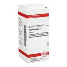 Produktbild Sanguinaria D 12 Tabletten