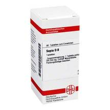 Produktbild Sepia D 8 Tabletten