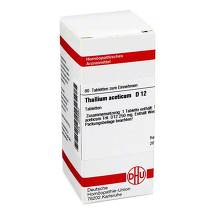Produktbild Thallium aceticum D 12 Tabletten