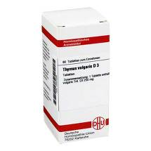 Produktbild Thymus vulgaris D 3 Tabletten