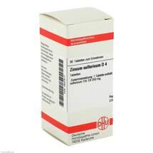 Produktbild Zincum sulfuricum D 4 Tabletten