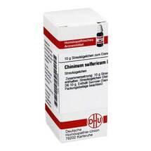 Produktbild Chininum sulfuricum D 6 Globuli