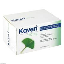 Produktbild Kaveri 120 mg Filmtabletten