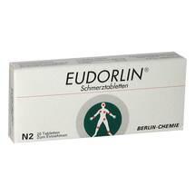 Produktbild Eudorlin Schmerztabletten