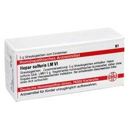 LM Hepar sulfuris VI Globuli