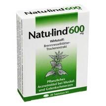 Produktbild Natulind 600 mg überzogene Tabletten