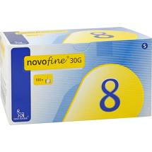 Novofine 8 Kanülen 0,30x8 mm Cpc