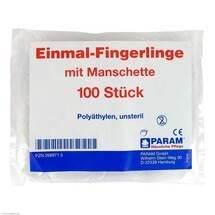 Fingerling Einmal Plastik