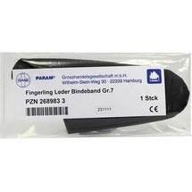 Produktbild Fingerling Leder Größe 7 mit Bin