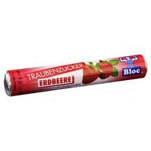 Bloc Traubenzucker Erdbeere