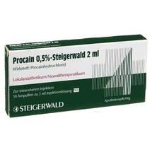 Procain 0,5% Steigerwald Injektionslösung