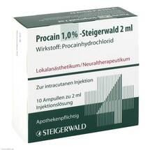 Produktbild Procain 1% Steigerwald Injektionslösung