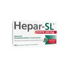 Produktbild Hepar SL forte 600 mg überzogene Tabletten