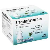 Produktbild Bronchoforton Inhalation / Salbe + Vapor. Kombipackung