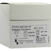 Ambix Safe Can Portpunkt.kanüle 22 Gx37 mm gebogen
