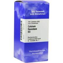 Produktbild Biochemie 1 Calcium fluoratum D 3 Tabletten