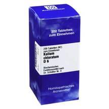 Produktbild Biochemie 4 Kalium chloratum D 6 Tabletten