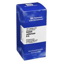 Produktbild Biochemie 6 Kalium sulfuricum D 6 Tabletten