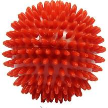 Massageball Igelball 9 cm rot