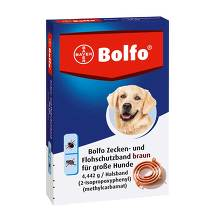 Bolfo Flohschutzband für große Hunde