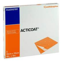 Produktbild Acticoat 10x10 cm antimikrobielle Wundauflage