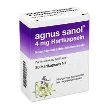 Produktbild Agnus Sanol Hartkapseln