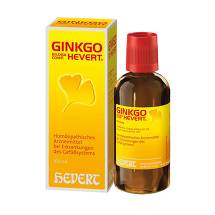 Produktbild Ginkgo biloba comp. Hevert Tropfen