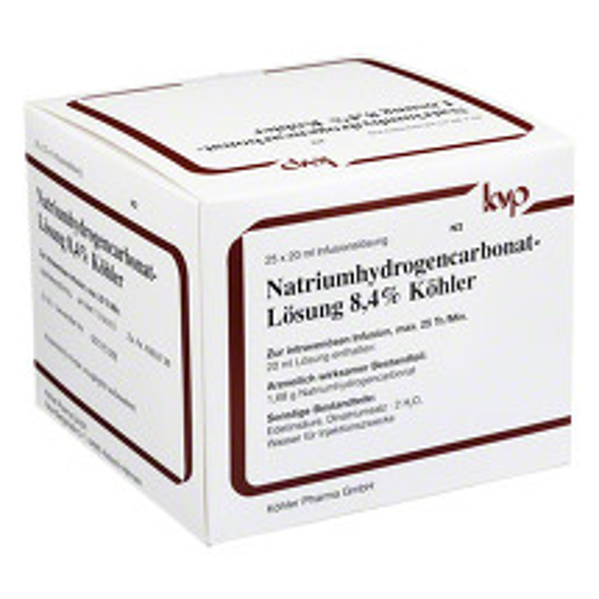 Produktbild Natrium hydrogencarbonat 8,4