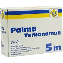 Produktbild Palma Verbandmull 5m Zickzac