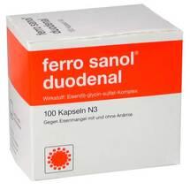 Produktbild Ferro Sanol duodenal Hartkapseln mit magensaftresistent überzogene Pell.