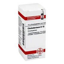 Produktbild Cholesterinum D 10 Globuli