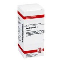 Produktbild Mandragora D 6 Tabletten