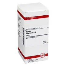 Produktbild Natrium sulfuricum D 6 Tabletten