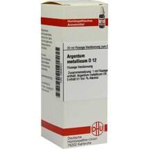 Produktbild Argentum metallicum D 12 Dilution