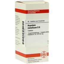 Produktbild Argentum metallicum D 8 Tabletten