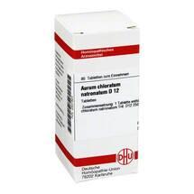 Produktbild Aurum chloratum natronatum D 12 Tabletten