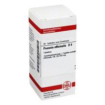 Produktbild Paeonia officinalis D 6 Tabletten