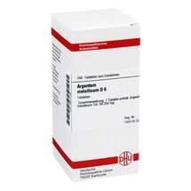 Produktbild Argentum metallicum D 6 Tabletten