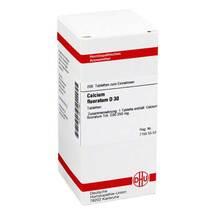 Produktbild Calcium fluoratum D 30 Tabletten
