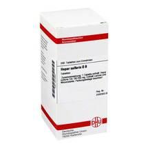 Produktbild Hepar sulfuris D 8 Tabletten