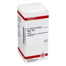 Produktbild Thuja D 12 Tabletten