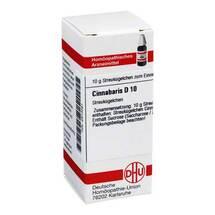 Produktbild Cinnabaris D 10 Globuli