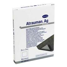 Produktbild Atrauman Ag 5x5 cm steril Kompressen
