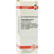 Thyreoidinum D 4 Dilution