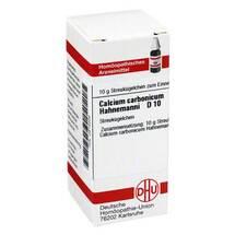 Produktbild Calcium carbonicum D 10 Globuli