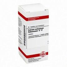 Produktbild Calcium carbonicum D 12 Tabl