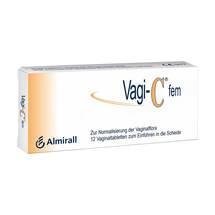 Produktbild Vagi C Fem Vaginaltabletten